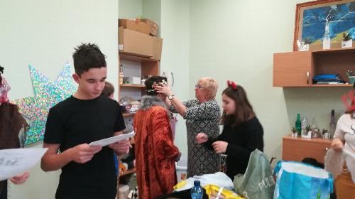 Obrazek galerii Jasełka w Domu Pomocy Społecznej