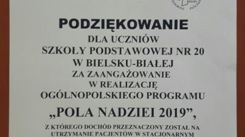 Obrazek galerii Pola Nadziei 2019