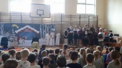 Obrazek galerii Jasełka w naszej szkole